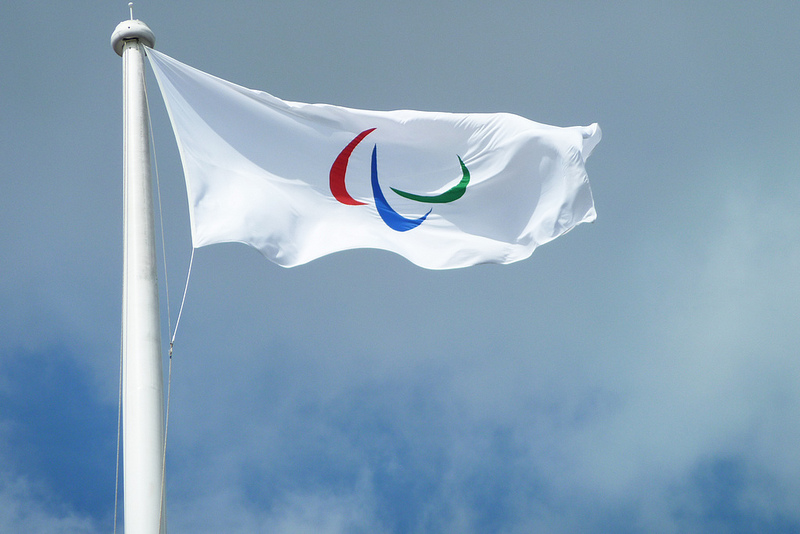 Paralympics logo, courtesy of The Department for Culture, Media and Sport